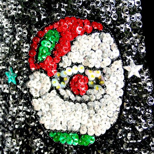 Christmas Lights Shop Charnock Richard: Richard Simmons' Blingy Bedazzled Sequin Santa Christmas