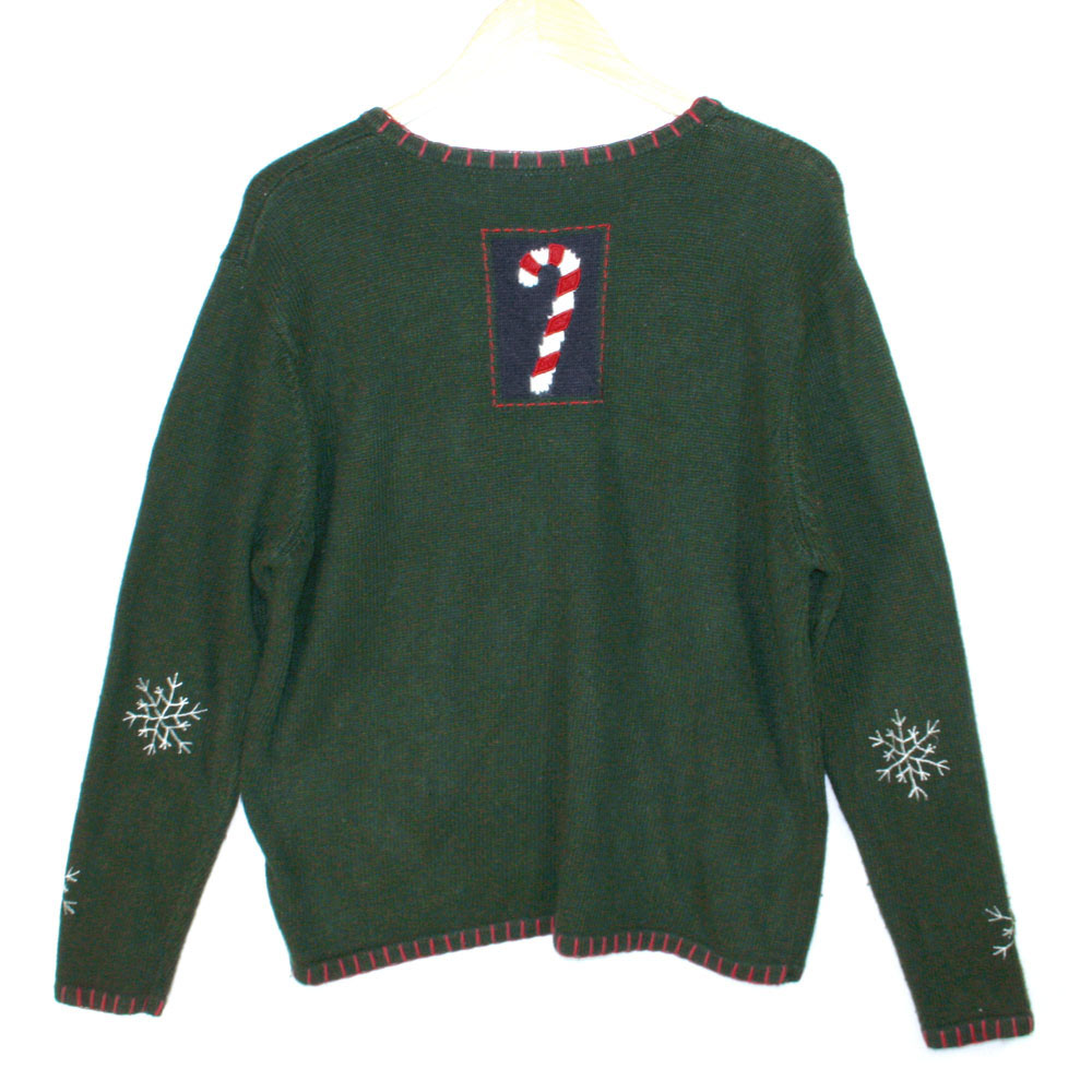 Green christmas sweater