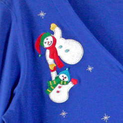 Don't Drop The Baby Snowman Tacky Ugly Christmas Shirt