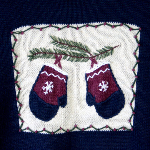 Mittens! Orvis Ugly Christmas Sweater