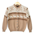 Vintage 50s / 60s Jersild Nordic Reindeer Ugly Sweater