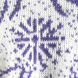 Vintage 80s Purple Sparkle Fireworks Ugly Sweater 2
