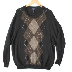 Dockers Big and Tall Men's Argyle Golf Sweater - New! 4XL