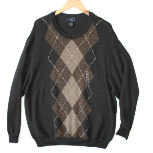 Dockers Big and Tall Men's Argyle Golf Sweater – New! 4XL