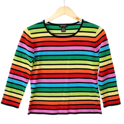 Rainbow Pride Tacky Ugly Sweater
