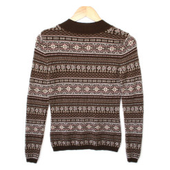 Soft Cashmere Fair Isle Ski Ugly Sweater