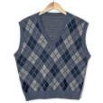 Preppy Argyle Tacky Ugly Golf Sweater Vest