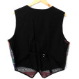 Soutwesthern Scottie Dogs Tacky Ugly Fabric Vest 2