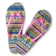 Ugly Sweater Flip Flops Women's Thong Sandals