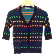Coincidence & Chance Urban Outfitters Retro Rainbow Heart Ugly Sweater