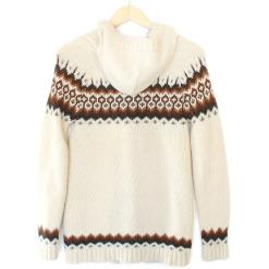 Heritage 1981 Cowichan Style Hoodie Ugly Sweater Coat