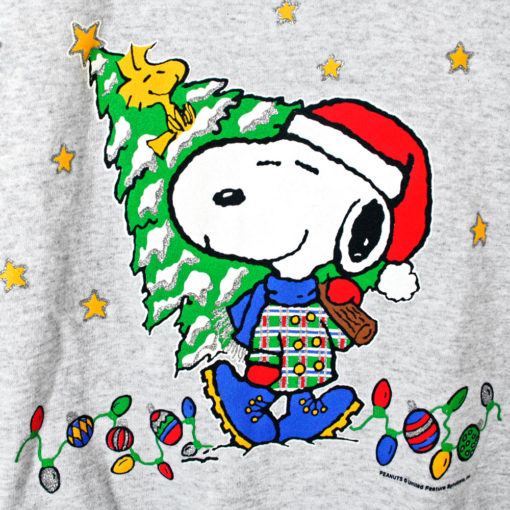 Peanuts Quot Santa Snoopy Quot Tacky Ugly Christmas Sweatshirt