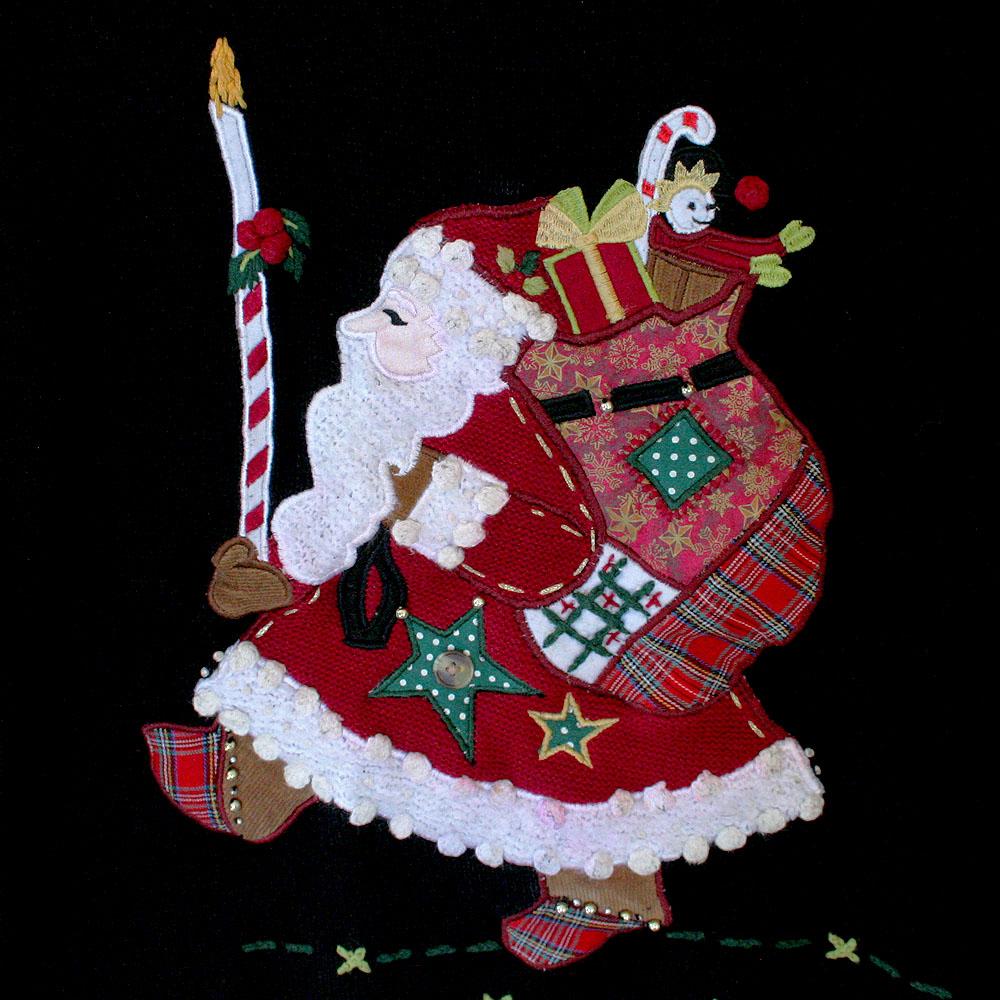 Ugly christmas sweater santa