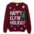 happy-elfin-holiday-tacky-ugly-christmas-sweater-1
