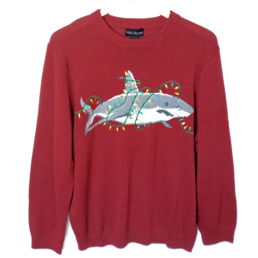 ugly christmas sweaters have jumped the shark - Shark Christmas Sweater