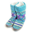 """Vanessa"" Ugly Sweater Candy Nordic Knit Mukluks from The Original Muk-Luk"