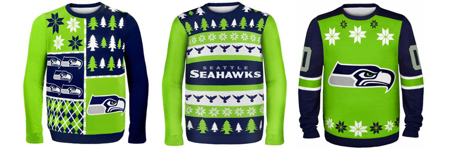 seattle seahawks nfl ugly christmas sweaters - Seahawks Christmas Sweater