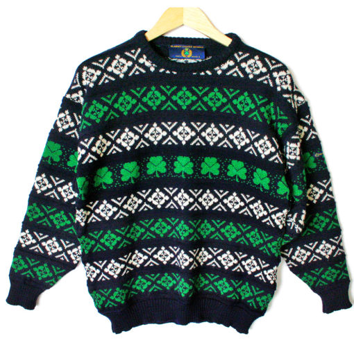 Blarney Castle St Patrick's Day Tacky Ugly Ski Sweater