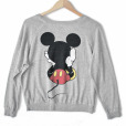 Disney Mickey Mouse Front Back Ugly Sweatshirt Style Shirt 2