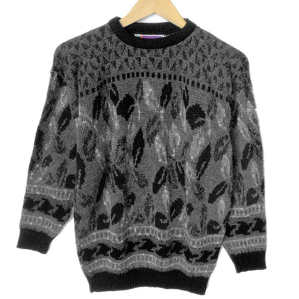 Falling Feathers Vintage 90s Ugly Huxtable / Cosby Sweater - The ...