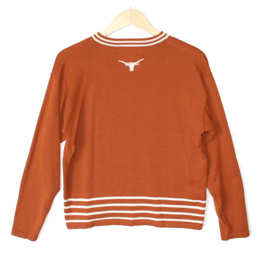 UT University of Texas Longhorns Tacky Ugly Sweater