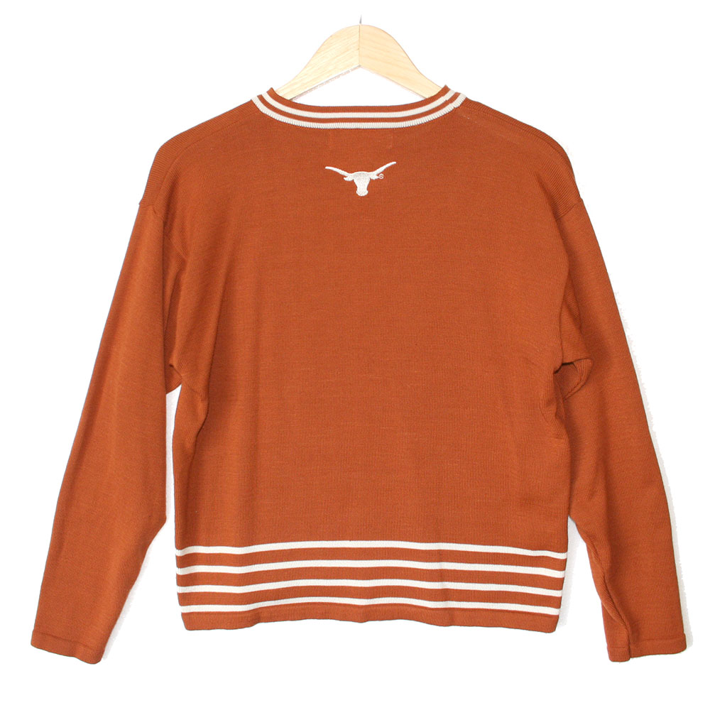 Ut university of texas longhorns tacky ugly sweater the ugly ut university of texas longhorns tacky ugly sweater sciox Images