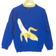 Alex Stevens Men's Big Banana Ugly Sweater