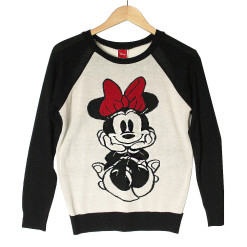 Disney Minnie Mouse Thin Lightweight Ugly Sweater