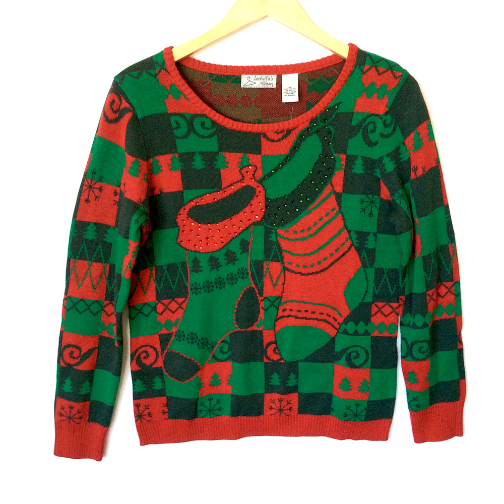 Ugly Christmas Sweaters for Men. While a lot of ugly christmas sweaters are unisex, if you are a man who prefers to stay away from Santa Claus, elves, reindeer, and penguin themed sweaters, there's plenty of other options you can choose from, all of which can be just as ugly.