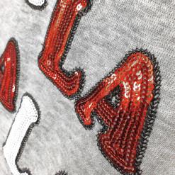 Bethany Mota Fa La La La La Y'all Sequin Ugly Christmas Sweatshirt