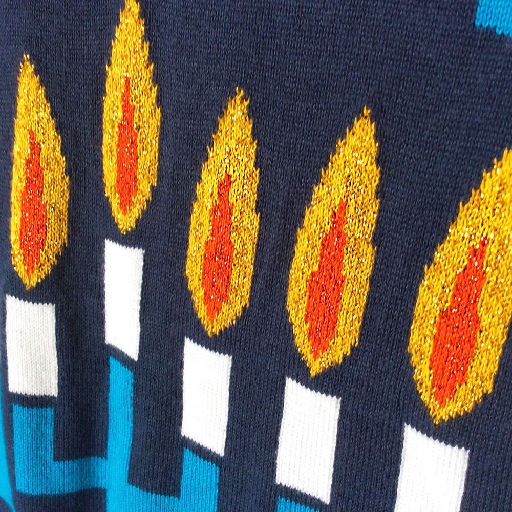 Ugly Hanukkah Sweater Light Up Best Sweater 2018