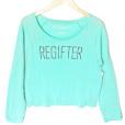 Regifter Tacky Ugly Christmas Sweatshirt Style Shirt - Turquoise