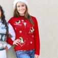 Sledding + Skiing Penguins Tacky Ugly Christmas Sweater
