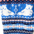 Super Soft Knit Happy Polar Bear Ugly Christmas Sweater Leggings 3