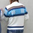 Vintage 70s Nordic Snowflake Ugly Ski : Christmas Sweater 2