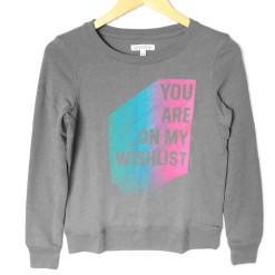 You Are On My Wishlist Vintage Look Ugly Christmas Sweatshirt