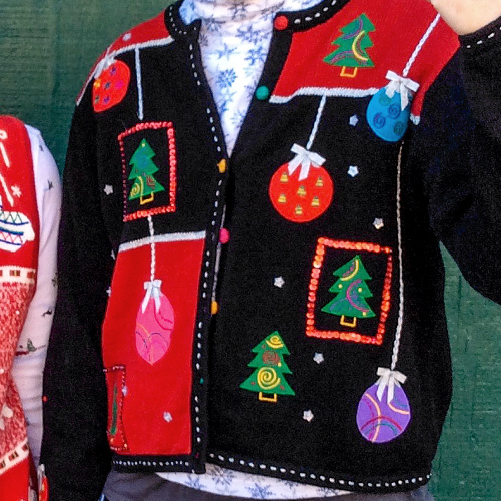 Tree christmas sweater