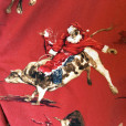 Rodeo Bull-Riding Cowboy Santa Ugly Christmas Shirt