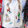 Stacks of Gingerbread Men Tacky Ugly Christmas Sweater Vest 2