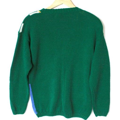 Vintage 90s Alexandra Bartlett St Patrick's Day Ugly Sweater