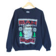 Bah Humbug Oscar The Grouch Tacky Ugly Christmas Sweatshirt