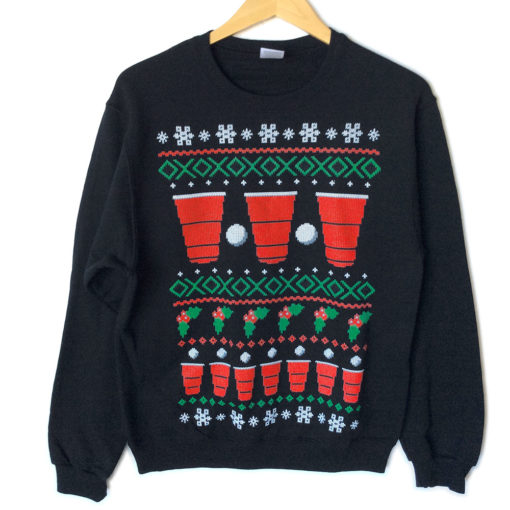 have-a-beery-christmas-beer-pong-ugly-sweater-style-tacky-sweatshirt