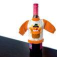 Knit Ugly Thanksgiving Sweater For Your Bottle of Wine - Turkey