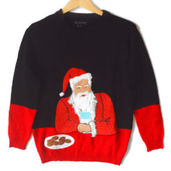 Most Interesting Santa In The World Tacky Ugly Christmas Sweater