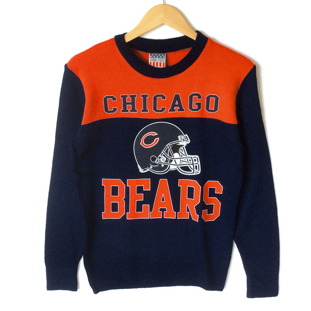 meet 21647 5189b NFL Licensed Chicago Bears Tacky Ugly Sweater