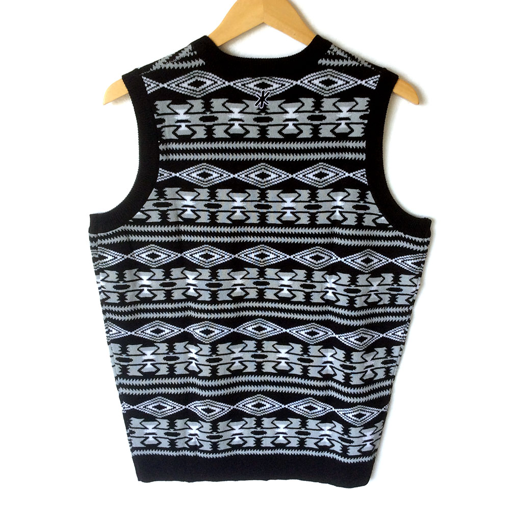 NFL Licensed Oakland Raiders Tacky Ugly Christmas Sweater Vest ...