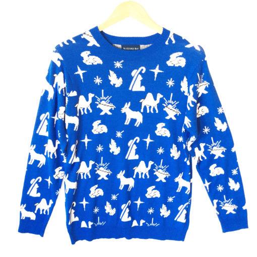 nativity-scenaNativity Scene Icons Tacky Ugly Christmas Sweatere-icons-tacky-ugly-christmas-sweater