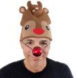 Reindeer Beanie Stocking Cap