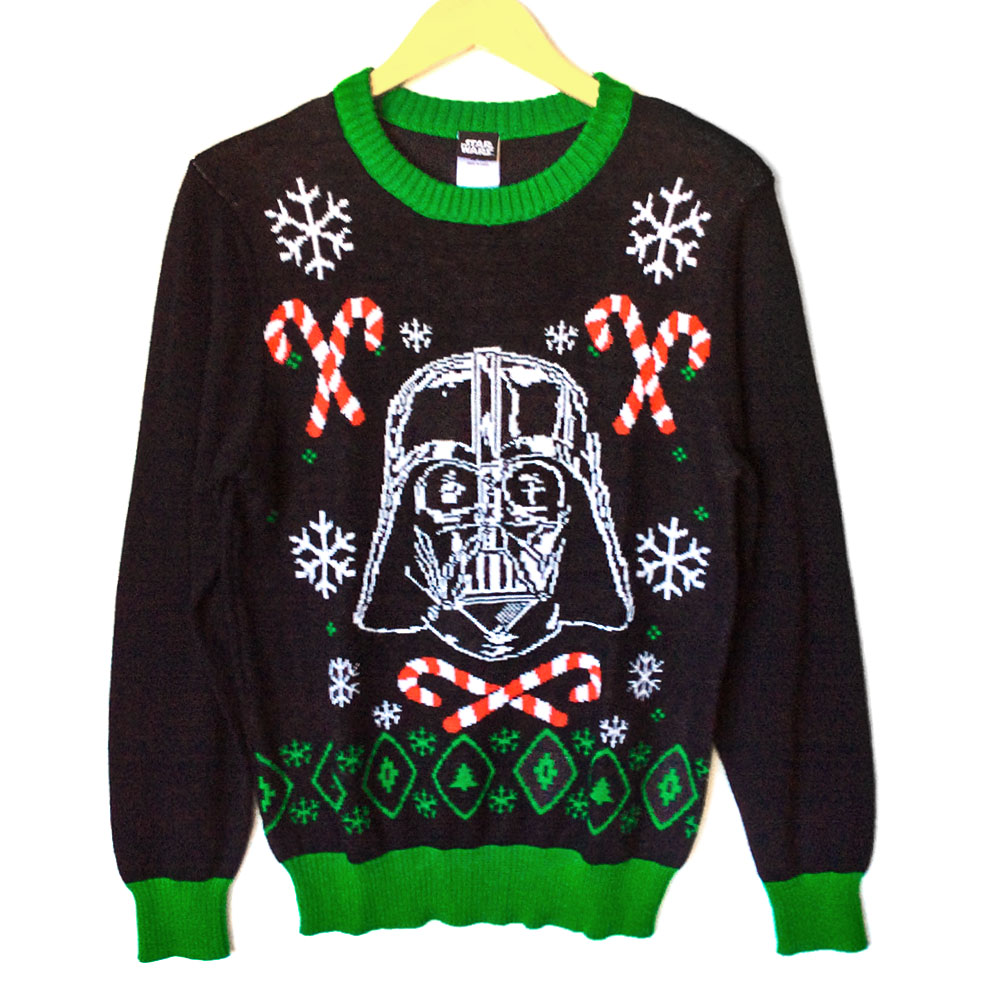 Star Wars Darth Vader Tacky Ugly Christmas Sweater - The Ugly ...