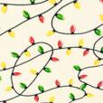 Tangled Christmas Lights Tacky Ugly Christmas Turtleneck